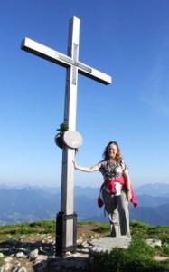 Glücksgefühl bei einer Gipfelbesteigung